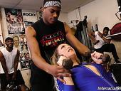Insatiable Hooker Carmen Valentina Serves Several Sex-starved Black Dudes