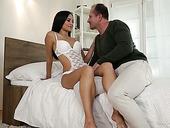 Ukrainian Slut Shrima Malati Takes Part In Hardcore Gangbang Scene